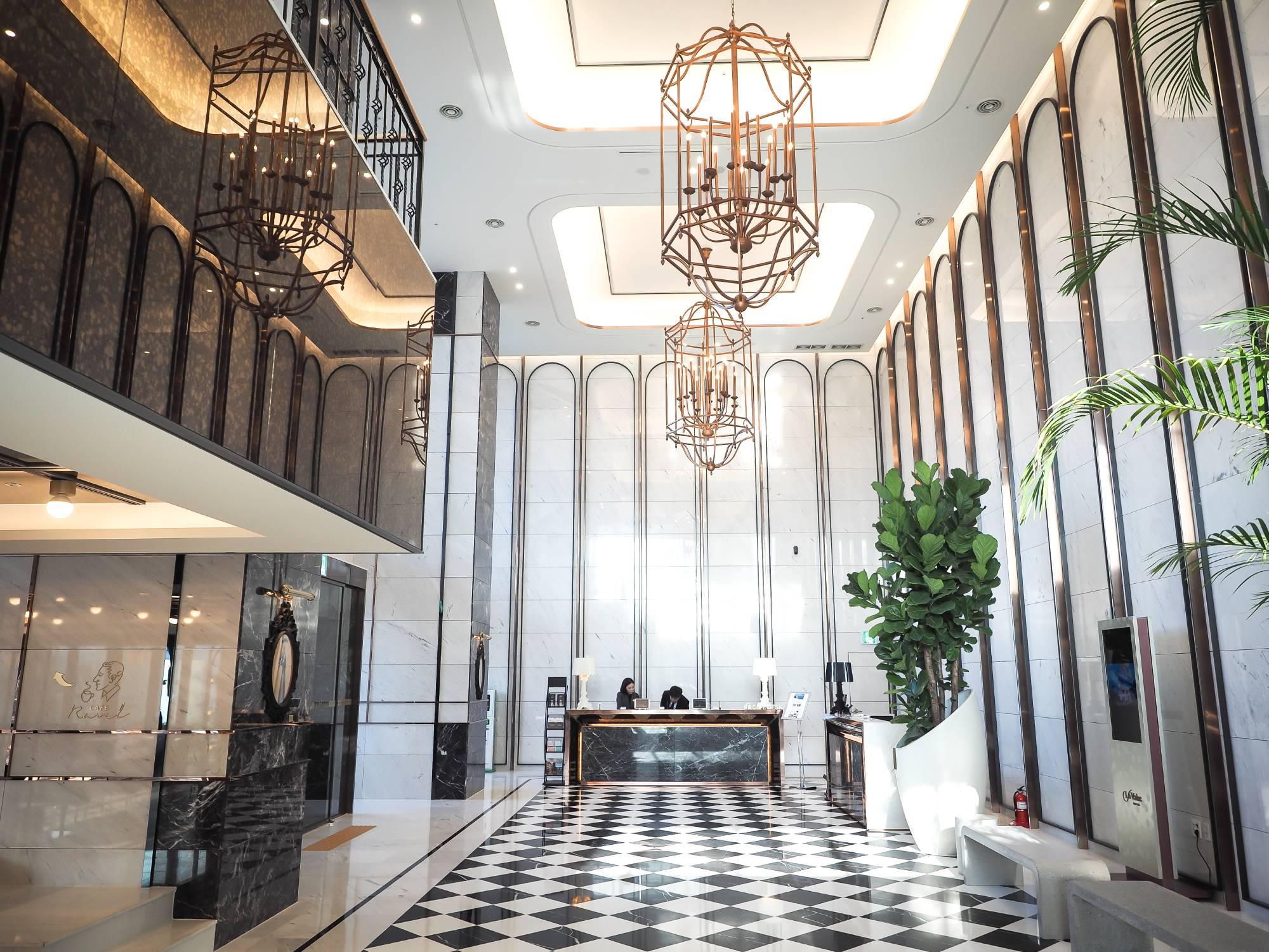 busan hotel lobby
